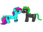 Rave Bolt and Poison Stitch by ronekimew