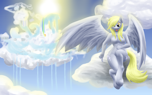 Derpy Hooves wallpaper by Xeolan