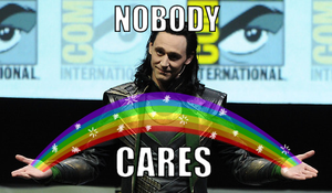 Loki: Nobody Cares! by AlexisRendell