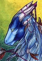 Samantha-dragon ACEO by Natoli