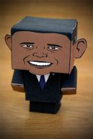 CubeCraft Obama by digital-uncool