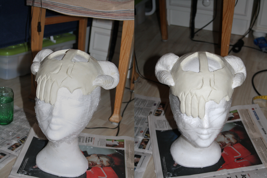 Neliel Tu mask Preview by Shiroiaisu