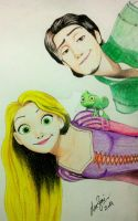 Tangled - Repunzel by zied8008