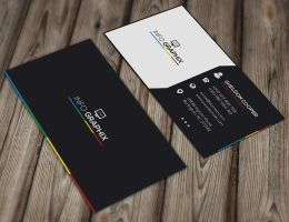 Free Corporate Business Card Template by GreyFoxGR