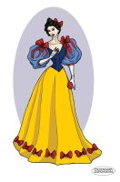 Victorian Snow-White by LaTaupinette