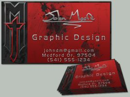 JM Business Card by FoxSilver