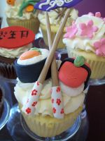 sushi cupcake 2 by see-through-silence