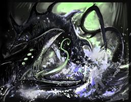 The Norse Serpent God by lnfectedxangelic