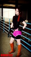 A Valkyrie's Strength-RE2 Claire Redfield Cosplay by Hamm-Sammich
