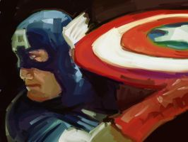 dsc captain america by videsh
