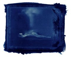 Alison Cyanotype 02 by perry