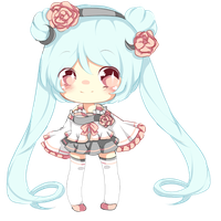 1ST CHIBI(ADOPTABLE SET ONLY) CLOSED by Miyee