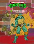 Michelangelo with Grappling Hook by ShinMusashi44