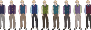 Designing James Hartwell's New Outfit by novemberkris