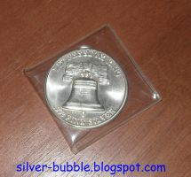 USA International Silver Trade Unit Front by Miss-Merlina