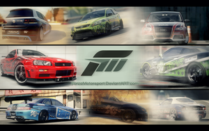 Wallpaper Forza Motorsport (Color) by RAMO-57