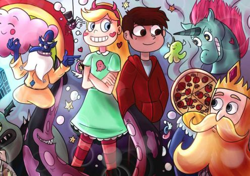 Star vs the forces of evil by camomile12