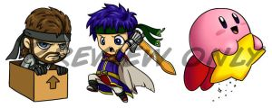Nintendo Chibis Pt. 2 by Red-Flare