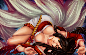 Ahri by frozentofu