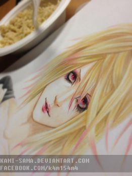 Yohio Sketch by kami-sama