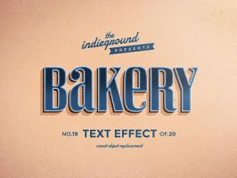 Retro Vintage Text Effect No.19 by IndieGround