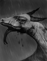 That story about frogs crying in the rain by GraveyardBat