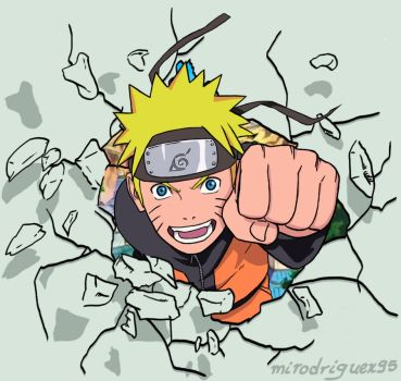 My new Naruto id :D by mirodriguex95