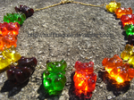 Gummy Bear Necklace, oh my by MuffinSquee