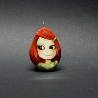 Ginger Girl Pendant by 1anina