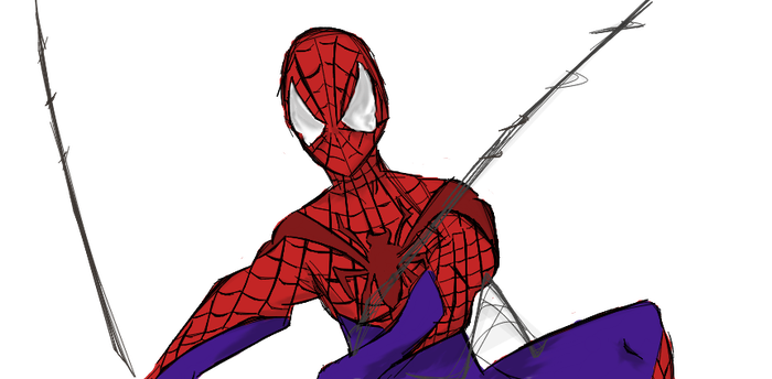 New Spidey in Town! by rayquaza555