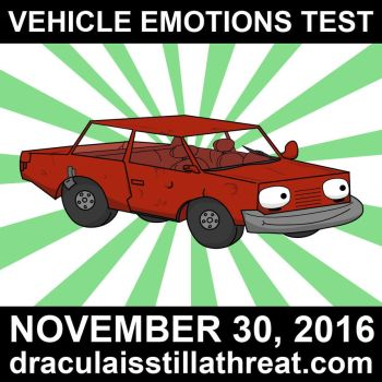 Vehicle Emotions Test-Promo Red by Chicken008