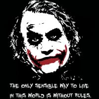 The joker No rules by ernesthumble