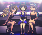 Girls Night Out - Colored (Human Color) by McSqueakers