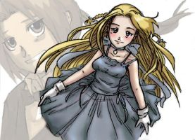 My fair winry colored by Nishi06
