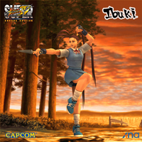 SSF4AE Ibuki schoolgirl outfit by Sticklove