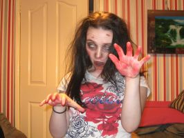 me as a Zombie by mephilesxdarkness