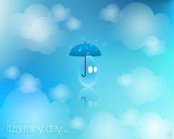 Itza Rainy Day Wallpaper by jhasson