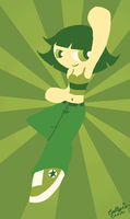 Green Buttercup by PrincessCallyie
