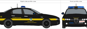 Crystal County Highway Patrol (Animated) by bar27262