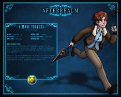 Afterrealm: Simone Travers by Allysdelta