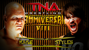 Tna Slammiversri Match Card by HaroonAmbroseHD