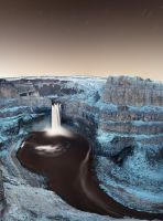 Palouse Falls by NickSpiker