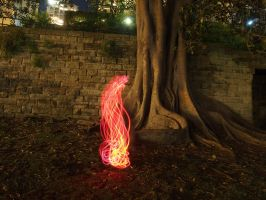Fire painting by JolanthusTrel
