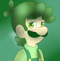 Luigi Green by raygirl12