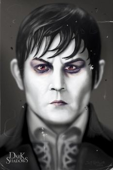 Barnabas Collins Faded by Kalimon789