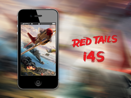 Red Tails i4/4S Wallpaper by biggzyn80