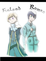 [Hetalia/Romeo and Juliet] I am you and you are I by Mintleaf-99