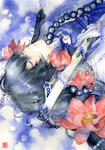 Touken ranbu: Prayer BlueViolet by muttiy
