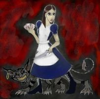 American Mcgee's Alice by Little-Katydid