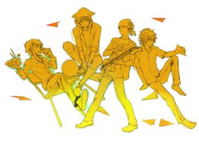 Golden boys by yooani